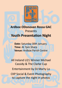 Presentation Night Poster